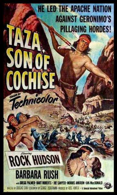 Poster_Taza, Son of Cochise