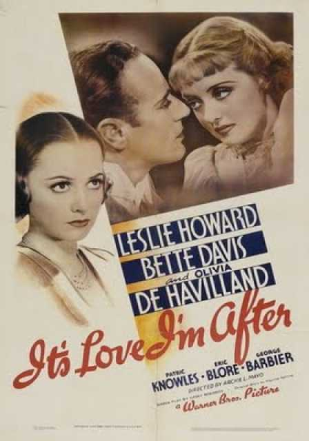 Poster_It's Love I'm After