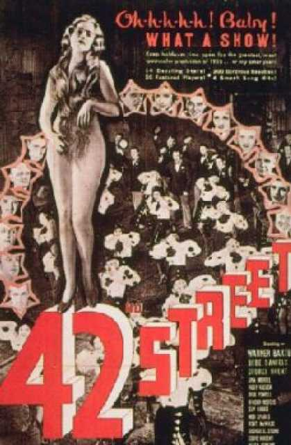 Poster von 42nd Street, © Warner Bros.,