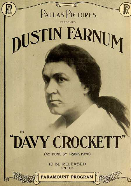 Poster von Davy Crockett, © Pallas Pictures, Paramount Pictures, Inc., Famous Players-Lasky Corporation,