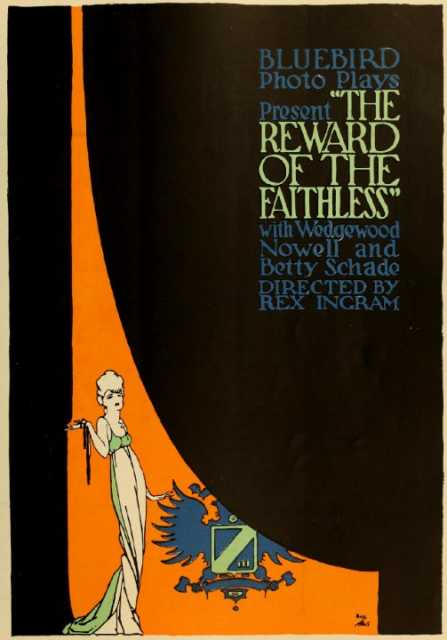 Poster von The Reward of the Faithless, © Bluebird Photoplays Inc., Universal Film Manufacturing Company,