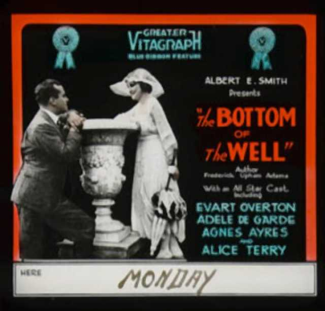 Poster von The Bottom of the Well, © Vitagraph Company of America,