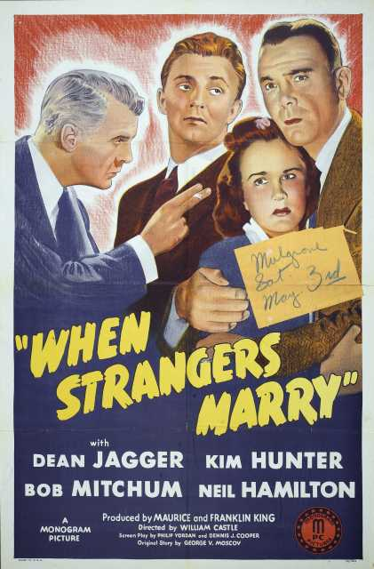 Poster_When Strangers Marry