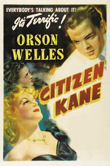 Poster von Citizen Kane, © RKO Radio Pictures,