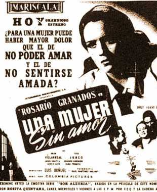 Poster_Mujer sin Amor