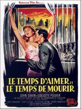 Poster_time to love and a time to die