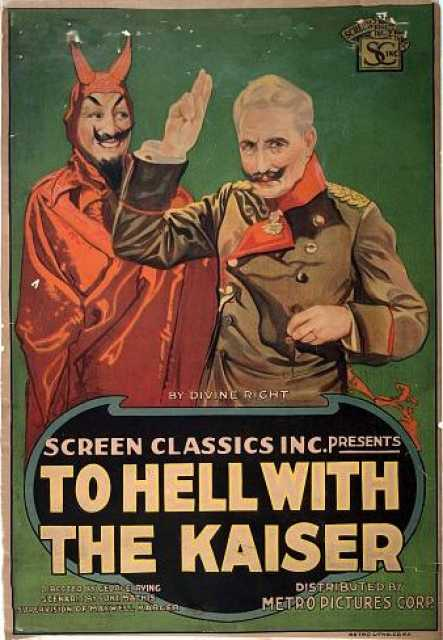 Poster_To Hell with the Kaiser