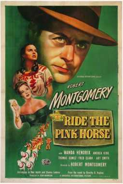 Poster_Ride the pink horse
