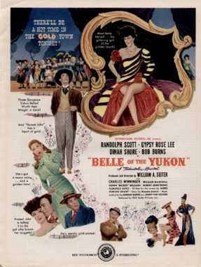 Poster_Belle of the Yukon