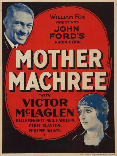 Poster von Mother Machree, © Fox Film Corporation,