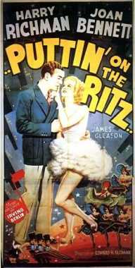 Poster_Puttin&#39 on the Ritz