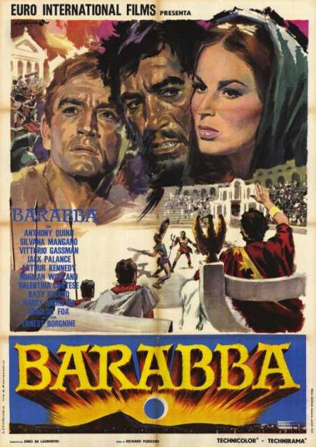 Poster von Barabba, © Production
