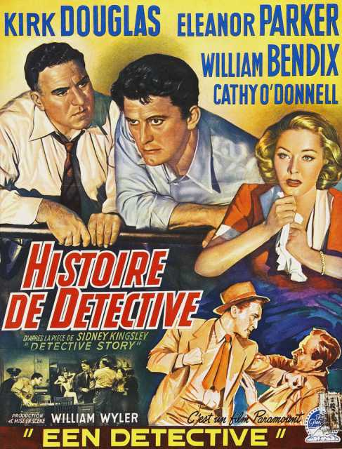 Poster von Detective Story, © Production
