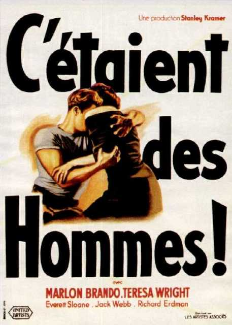 Poster von The Men, © United Artists,
