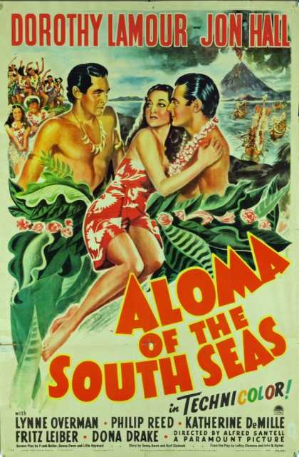 Poster_Aloma of the South Seas