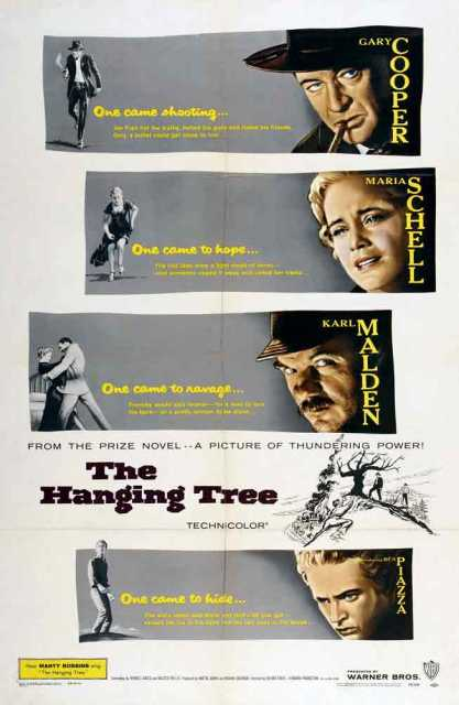 Poster von The hanging tree, © Production