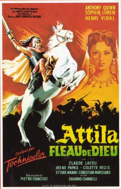 Poster von Attila, flagello di Dio, © Production